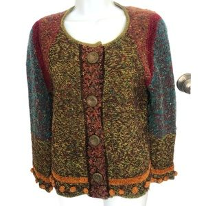 Anthropologie Curio cardigan sweater - size PMed